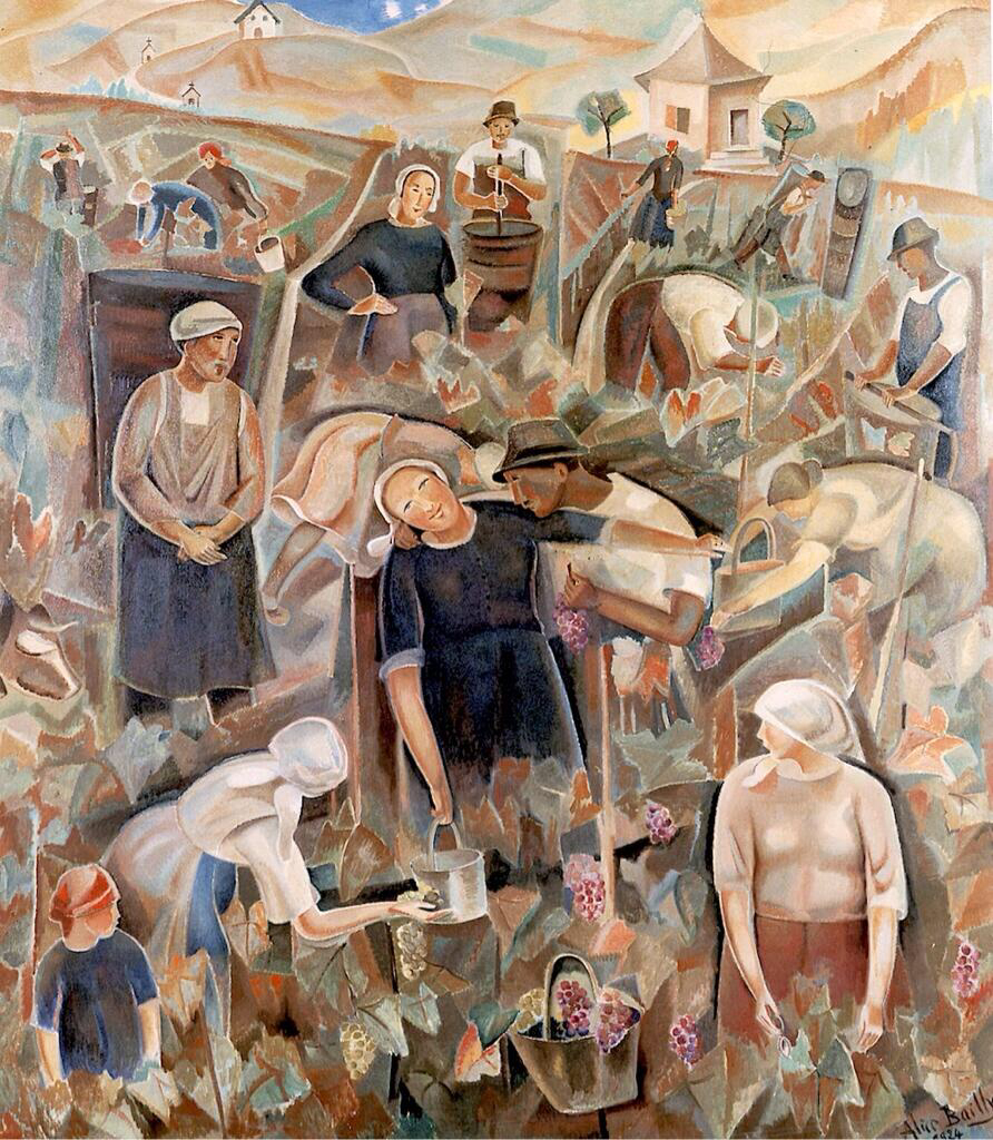 Land of the Vineyards - Alice Bailly