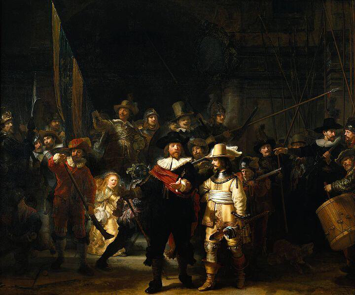 The Night Watch - Rembrandt van Rijn