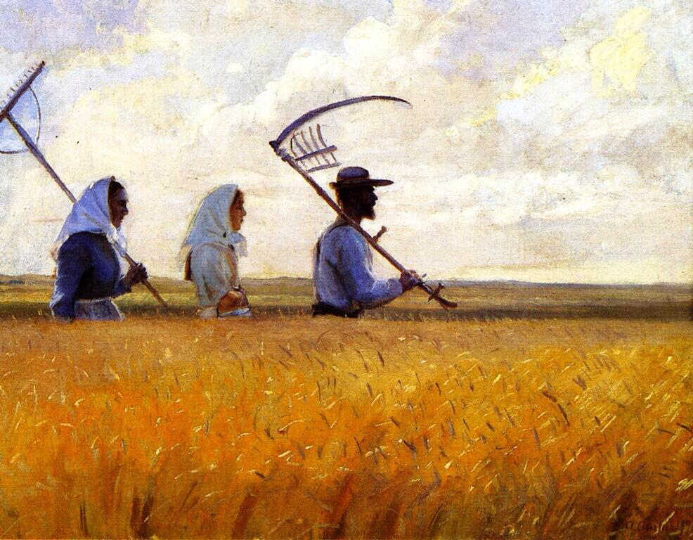 Harvest Time - Anna Kirstine Ancher