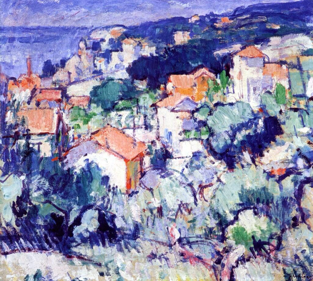 Landscape, South of France - Samuel John Peploe