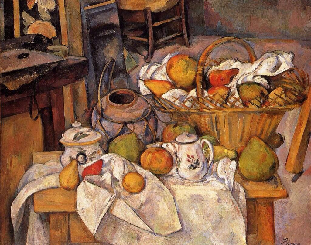 The Kitchen Table - Paul Cézanne