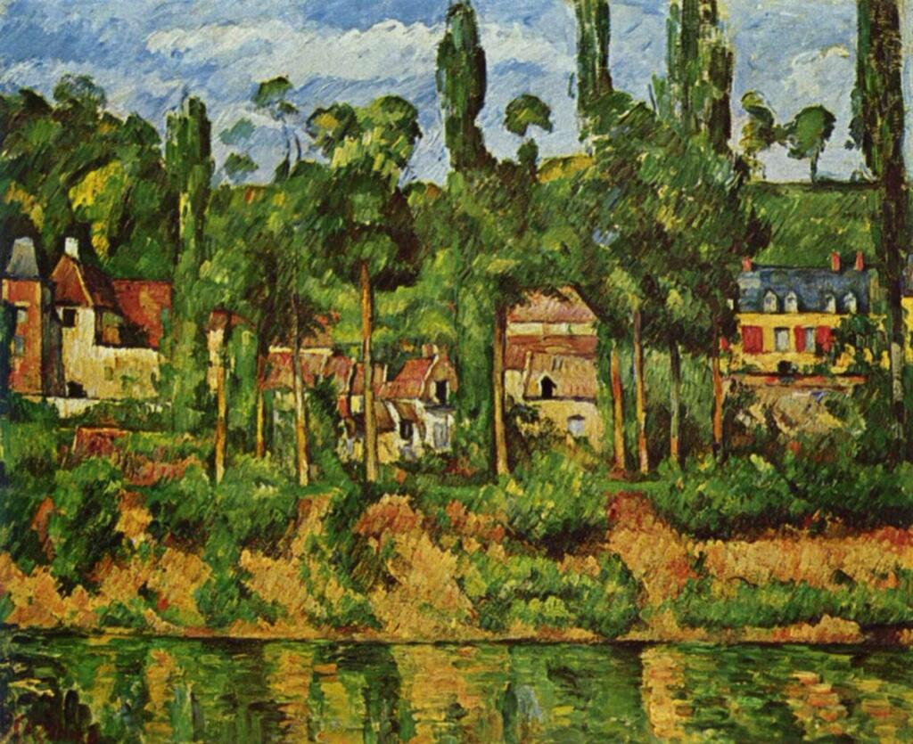 The Chateau de Medan - Paul Cezanne