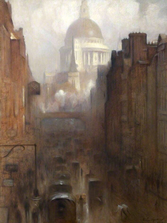 St Paul's Cathedral - Arthur Hacker