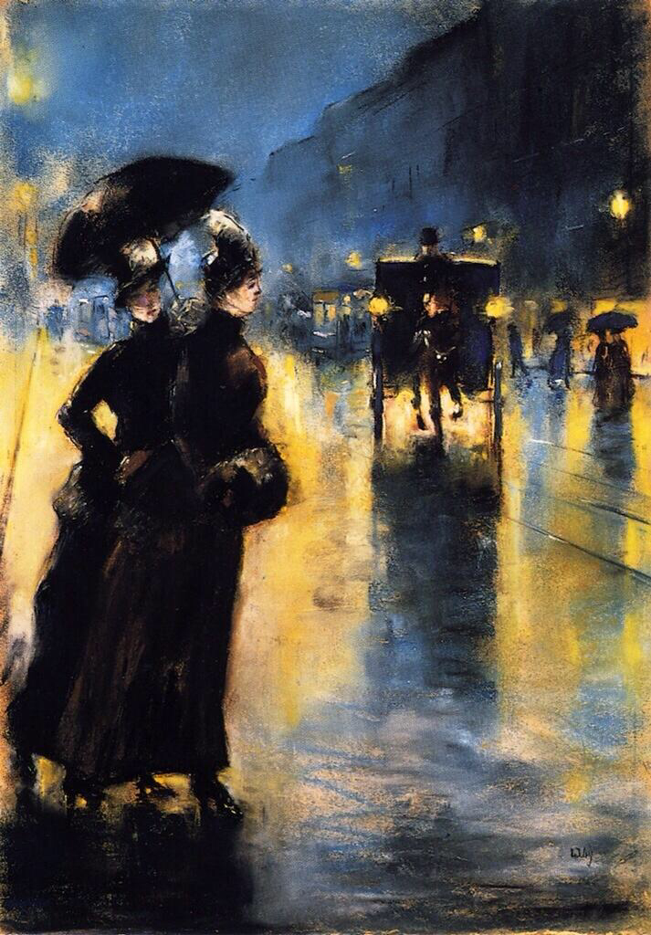 Night Lights - Lesser Ury