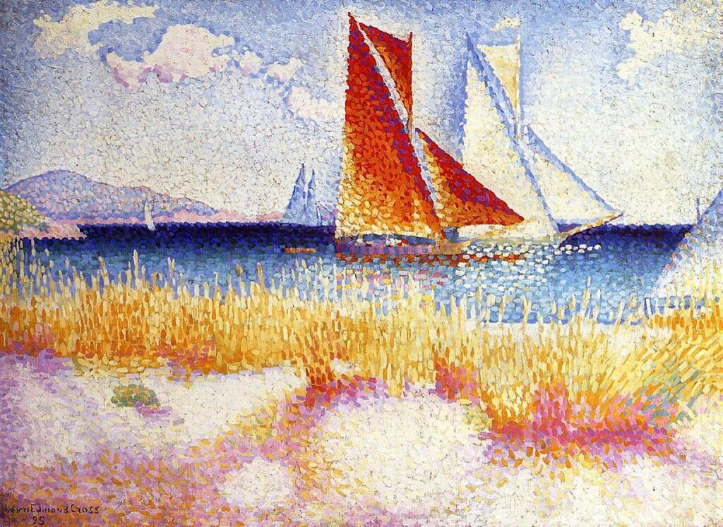 Regatta - Henri-Edmond Cross