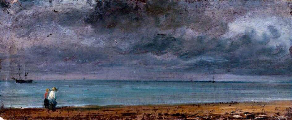 Brighton Beach - John Constable