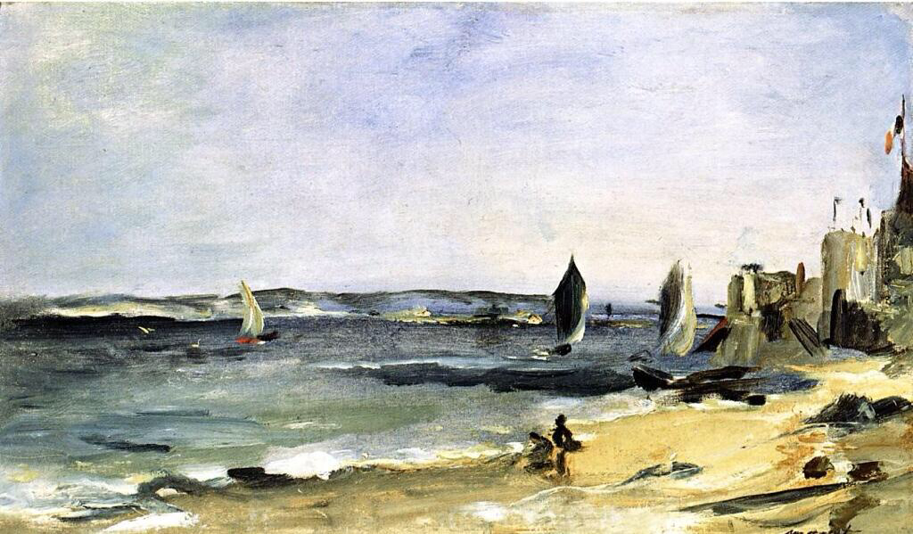 Seascape at Arcachon - Edouard Manet