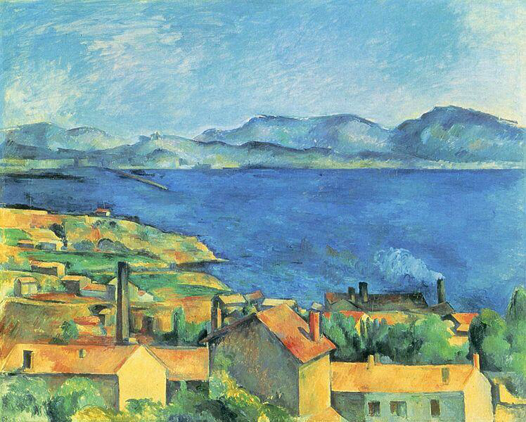 The Bay of Marseilles, view from L'Estaque - Paul Cézanne