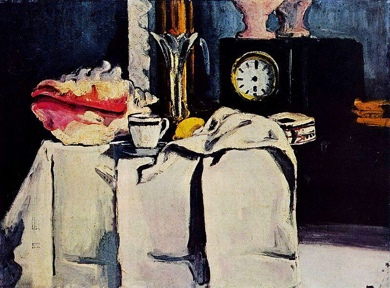 The Black Marble Clock - Paul Cézanne