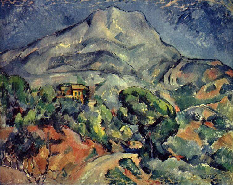 Road Before the Mountains, Sainte-Victoire - Paul Cézanne