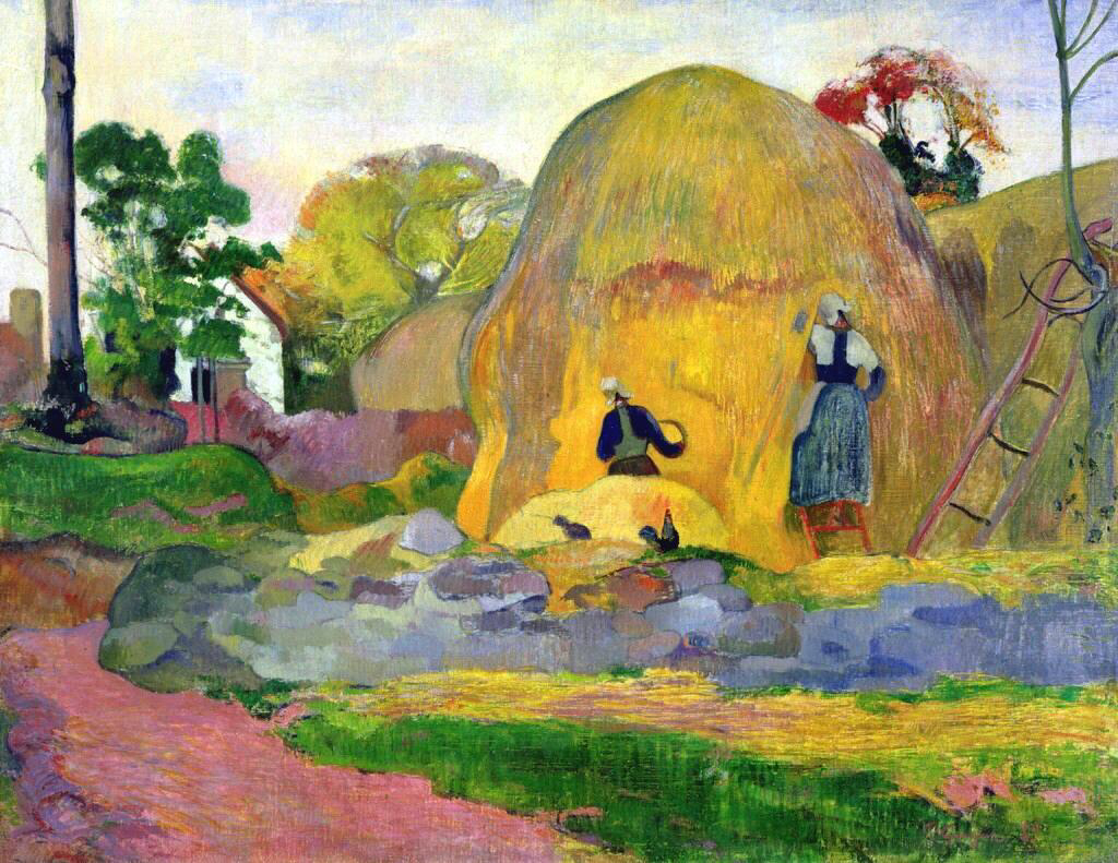 Golden Harvest - Paul Gauguin