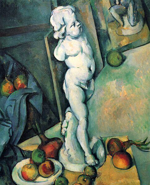 Still Life with Cherub - Paul Cézanne