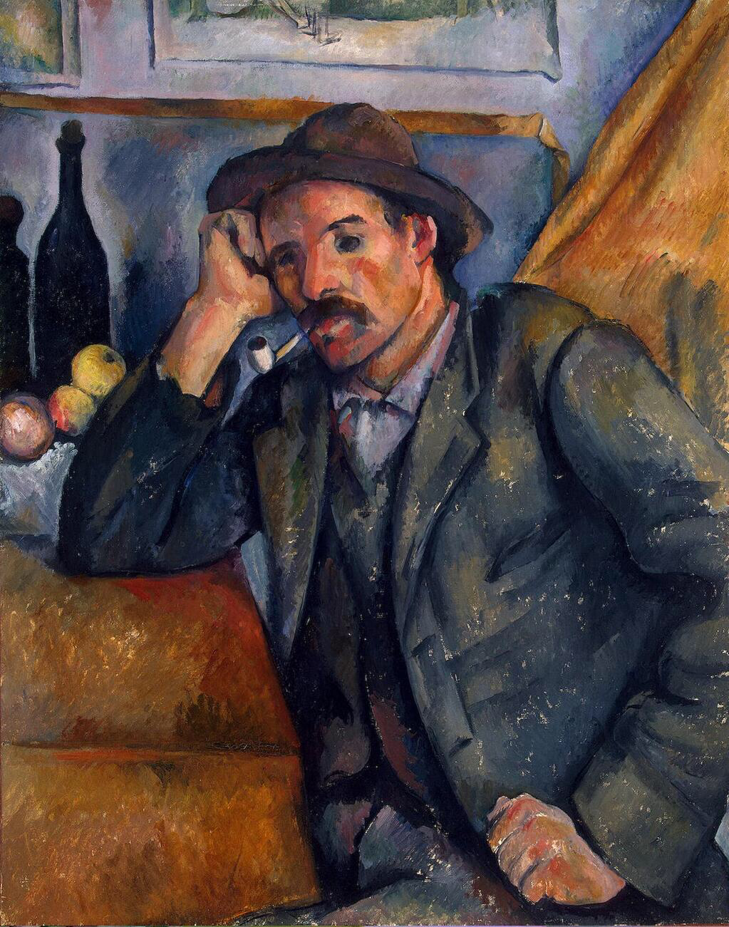 Man with a Pipe - Paul Cézanne