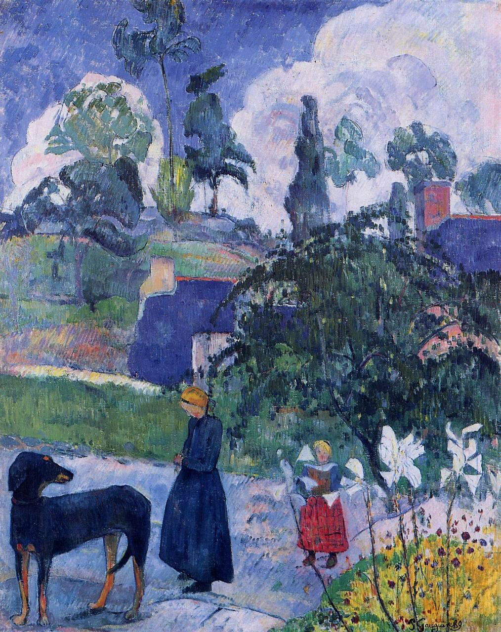 Among the Lillies - Paul Gauguin