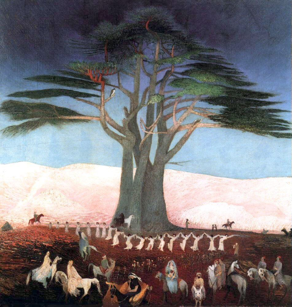 Pilgrimage to the Cedars of Lebanon - Tivadar Kosztka Csontváry