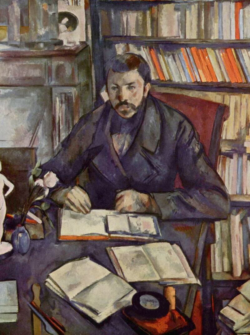 Portrait of Gustave Geffroy - Paul Cézanne