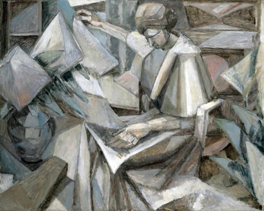 La Femme aux Phlox (Woman with Phlox) - Albert Gleizes