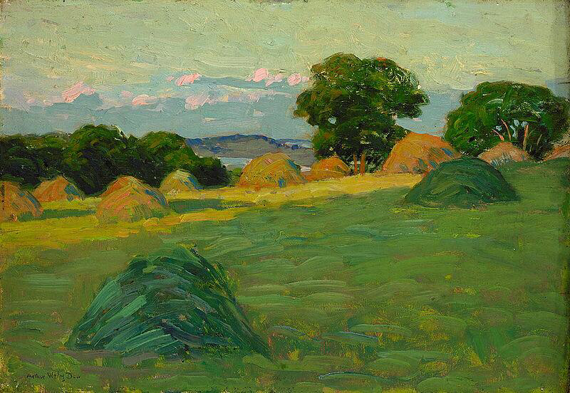 The Hill Field - Arthur Wesley Dow