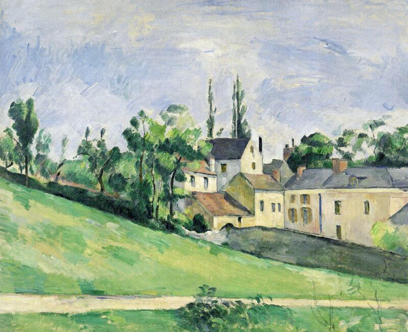 The uphill road - Paul Cézanne