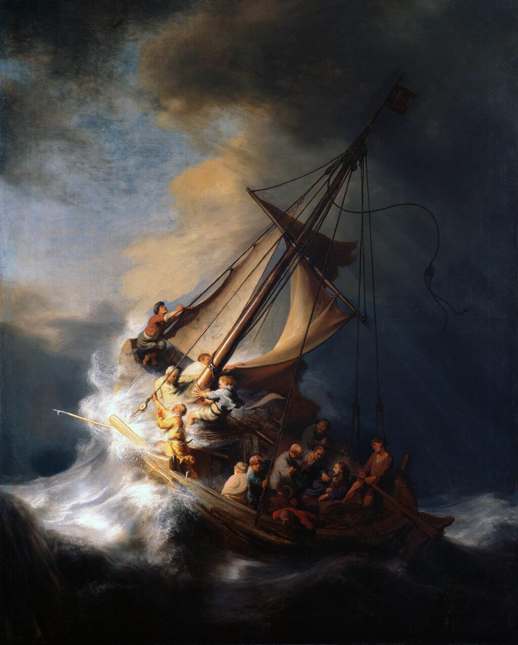 The Storm on the Sea of Galilee - Rembrandt van Rijn