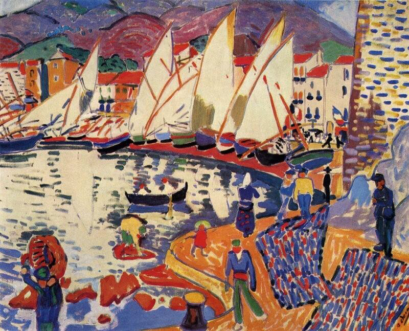 The Drying Sails - André Derain