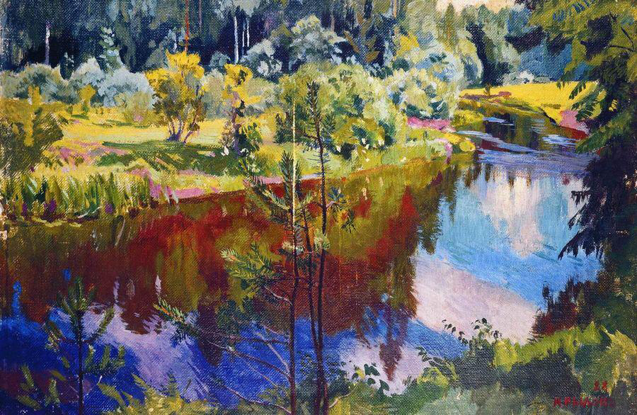 Red Reflections - Arkady Rylov