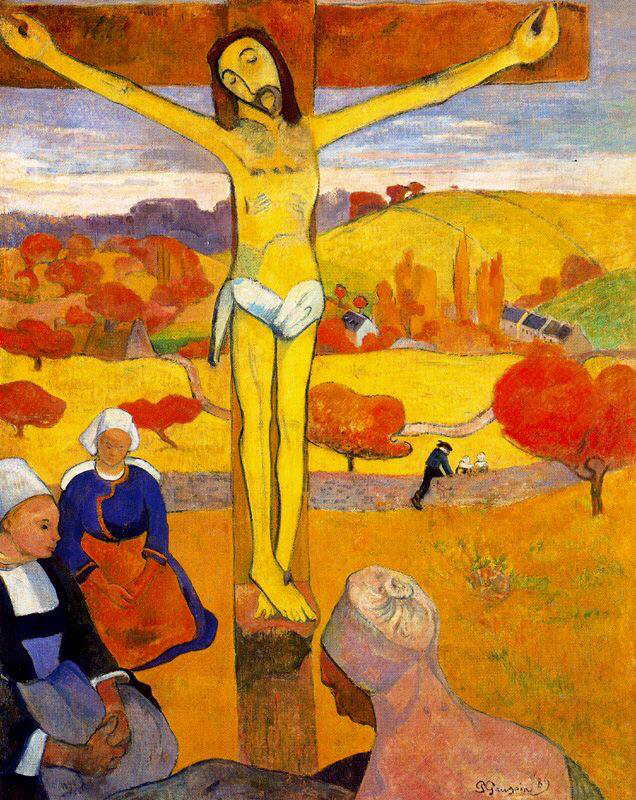 The Yellow Christ - Paul Gauguin