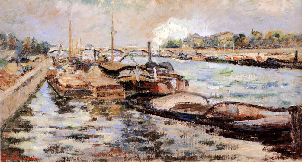 The Seine - Armand Guillaumin