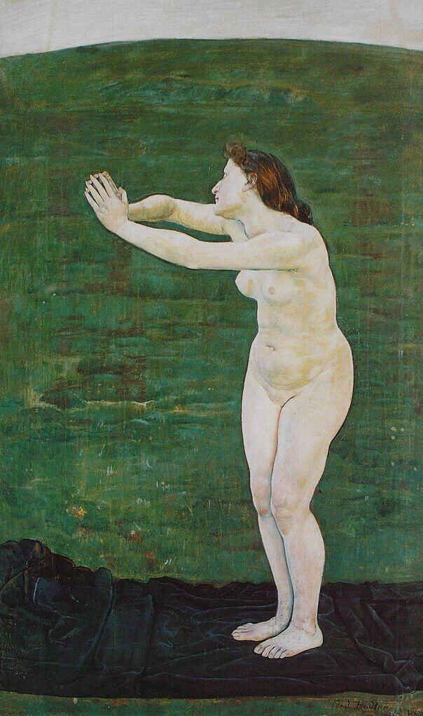 Communication with the Infinite - Ferdinand Hodler