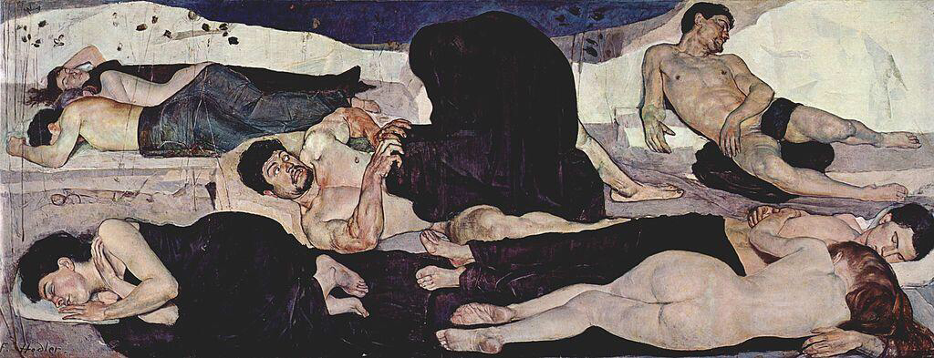 Night - Ferdinand Hodler