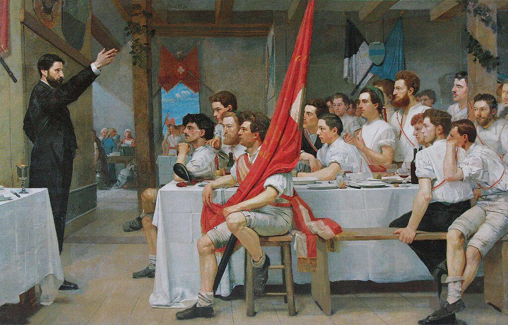 The Turner Banquet - Ferdinand Hodler