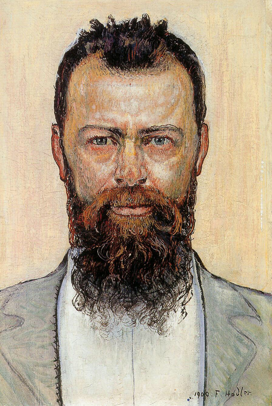Self-portrait - Ferdinand Hodler