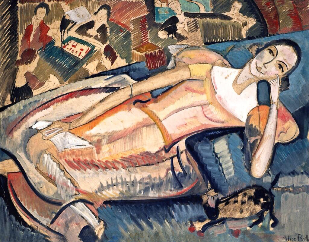 At Leisure - Alice Bailly
