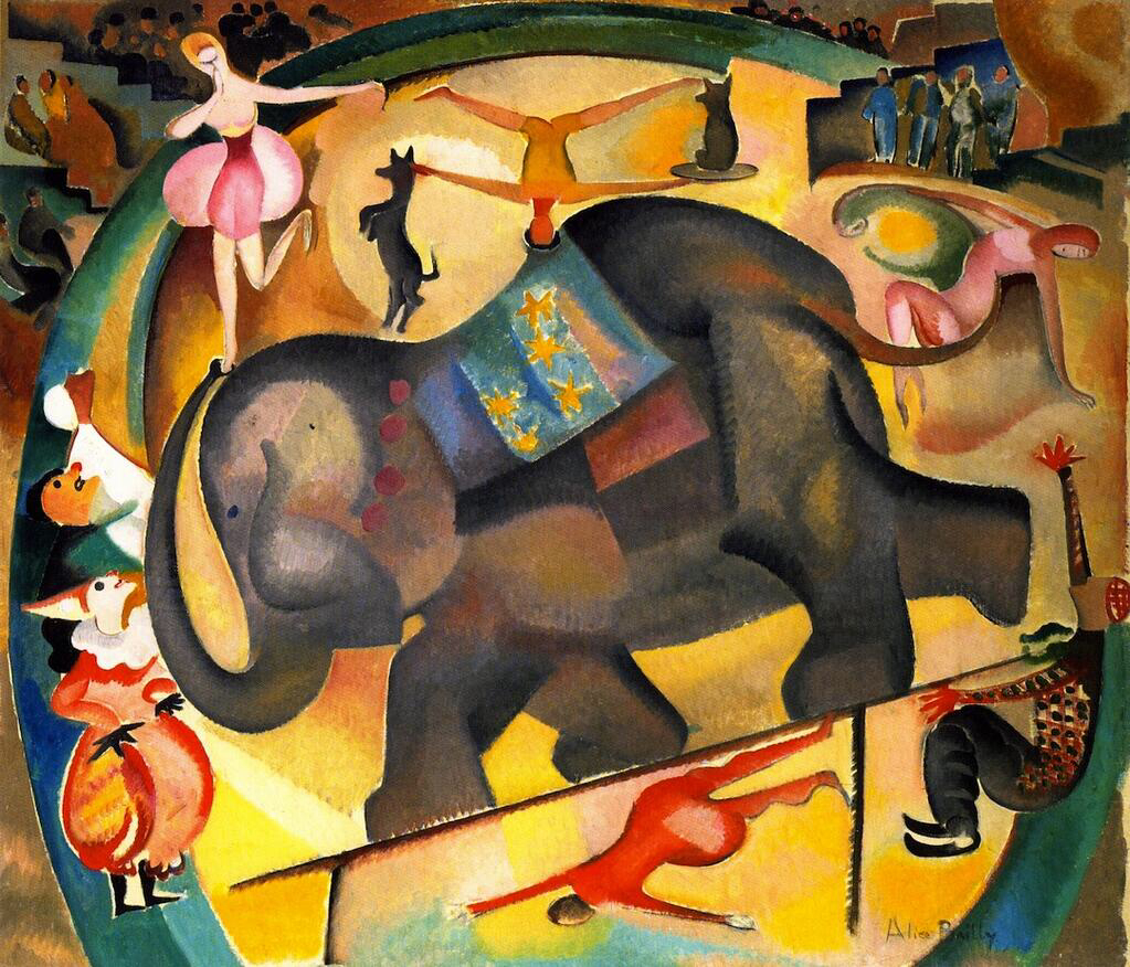 The Elephant - Alice Bailly