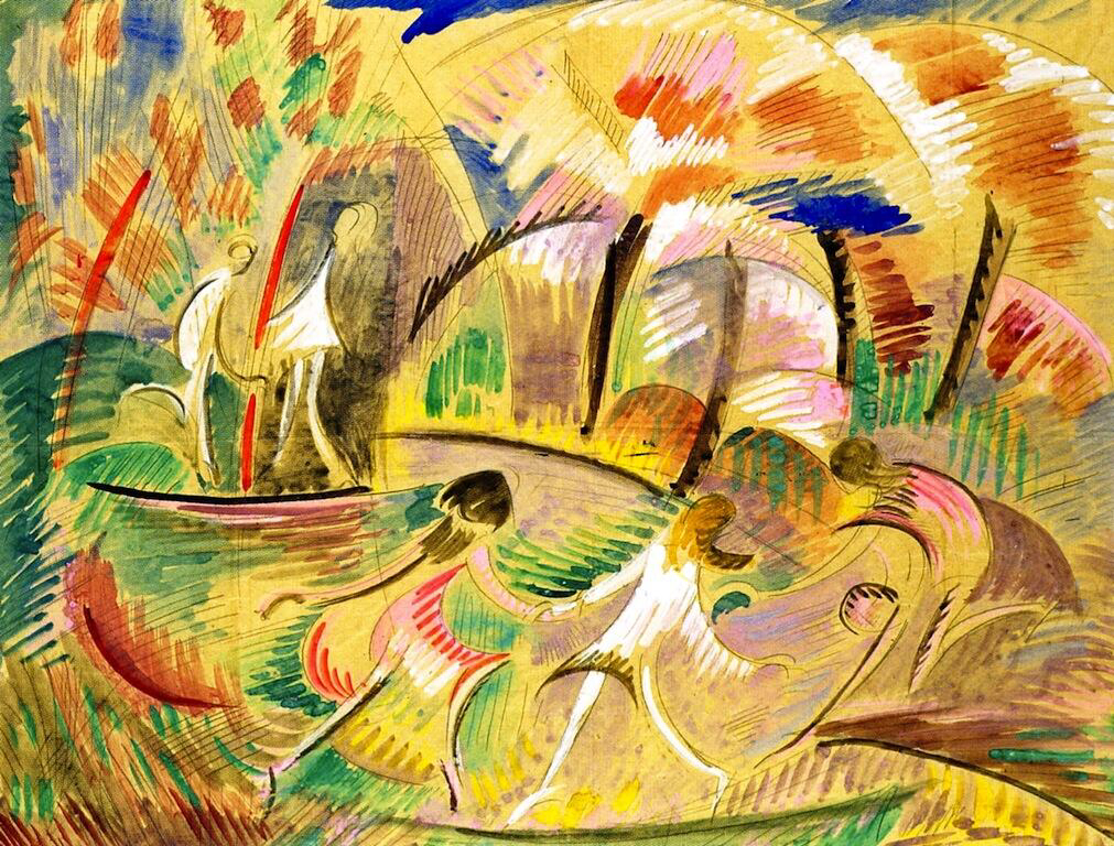Pink Spring - Alice Bailly