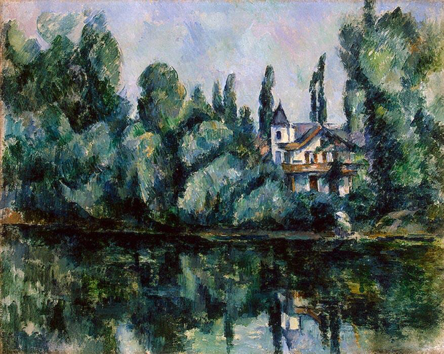 The Banks of the Marne - Paul Cézanne