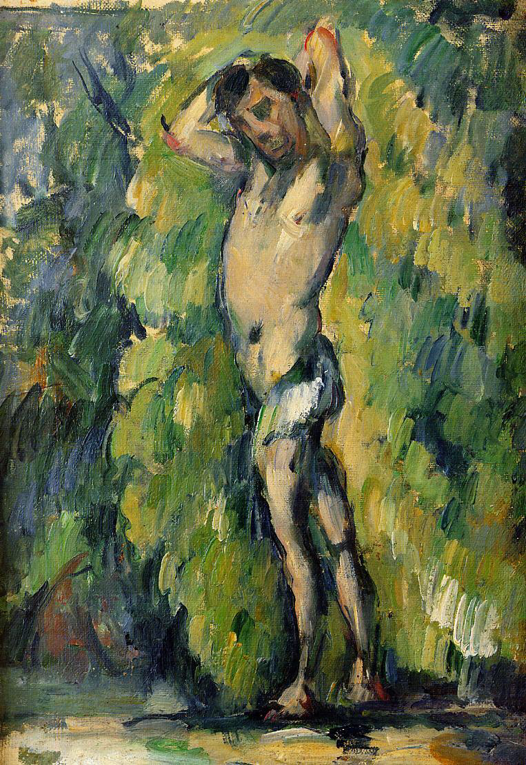 Bather - Paul Cézanne