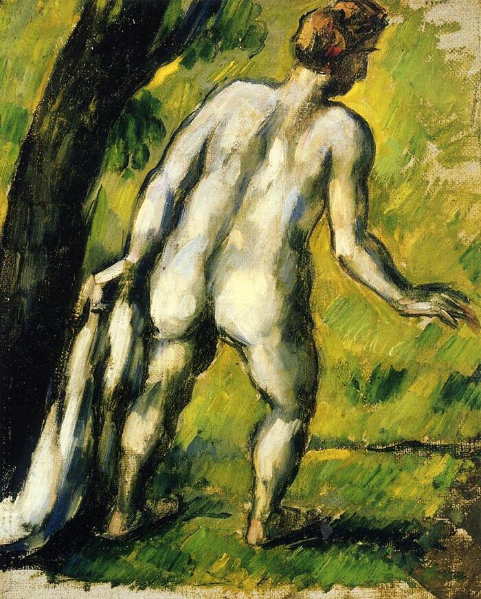 Bather from the Back - Paul Cézanne