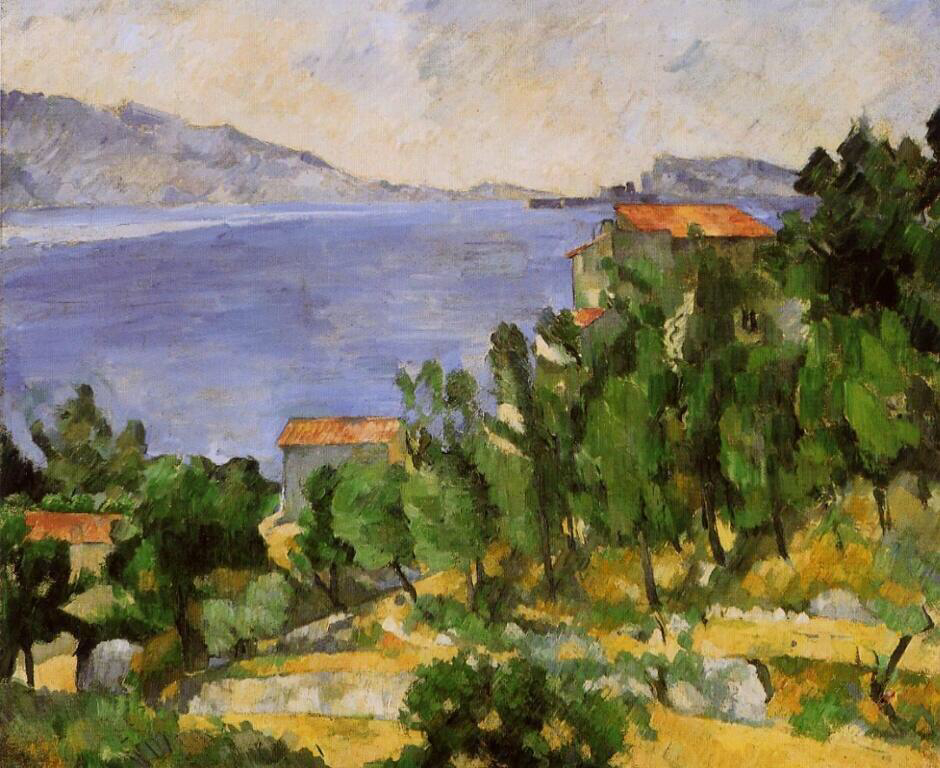 The Bay of L'Estaque from the East - Paul Cézanne