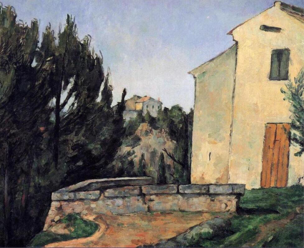 The Abandoned House - Paul Cézanne