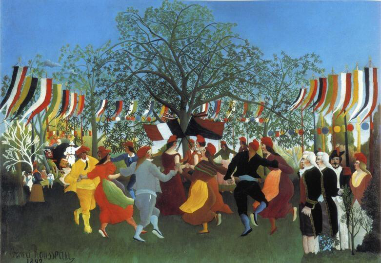 A Centennial of Independence - Henri Rousseau