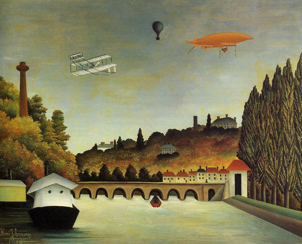 View of the Bridge at Sevres - Henri Rousseau