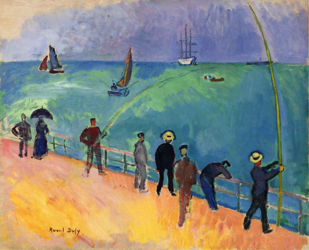 The Fishermen - Raoul Dufy