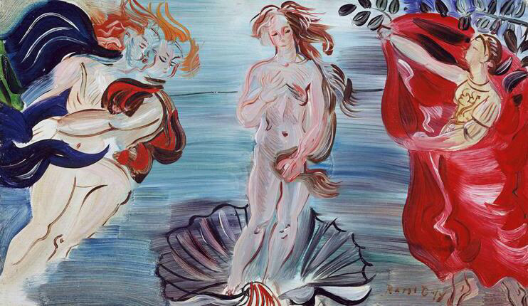 The Birth Of Venus - Raoul Dufy