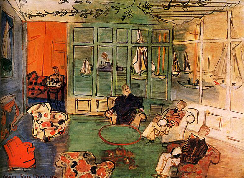The nautical Club with Cowes - Raoul Dufy