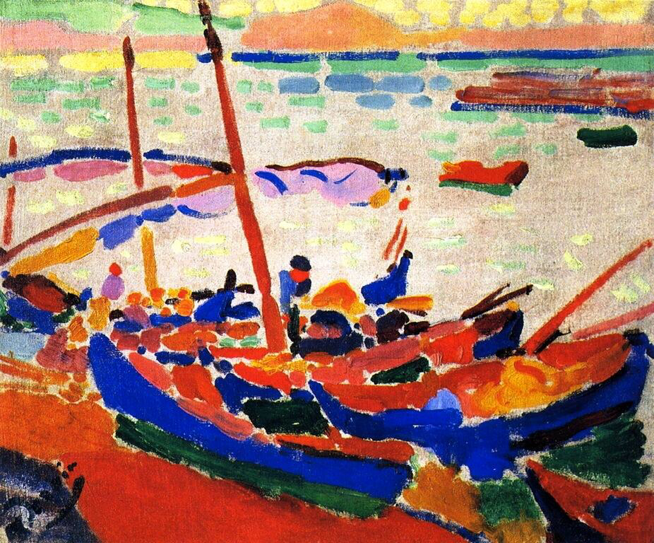 Fishing Boats - Andre Derain