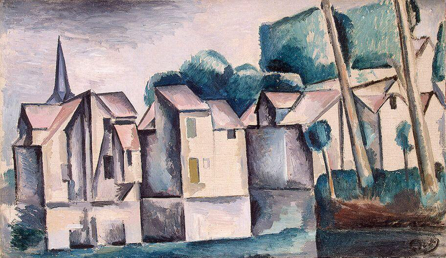 Houses on the Waterfront - Andre Derain