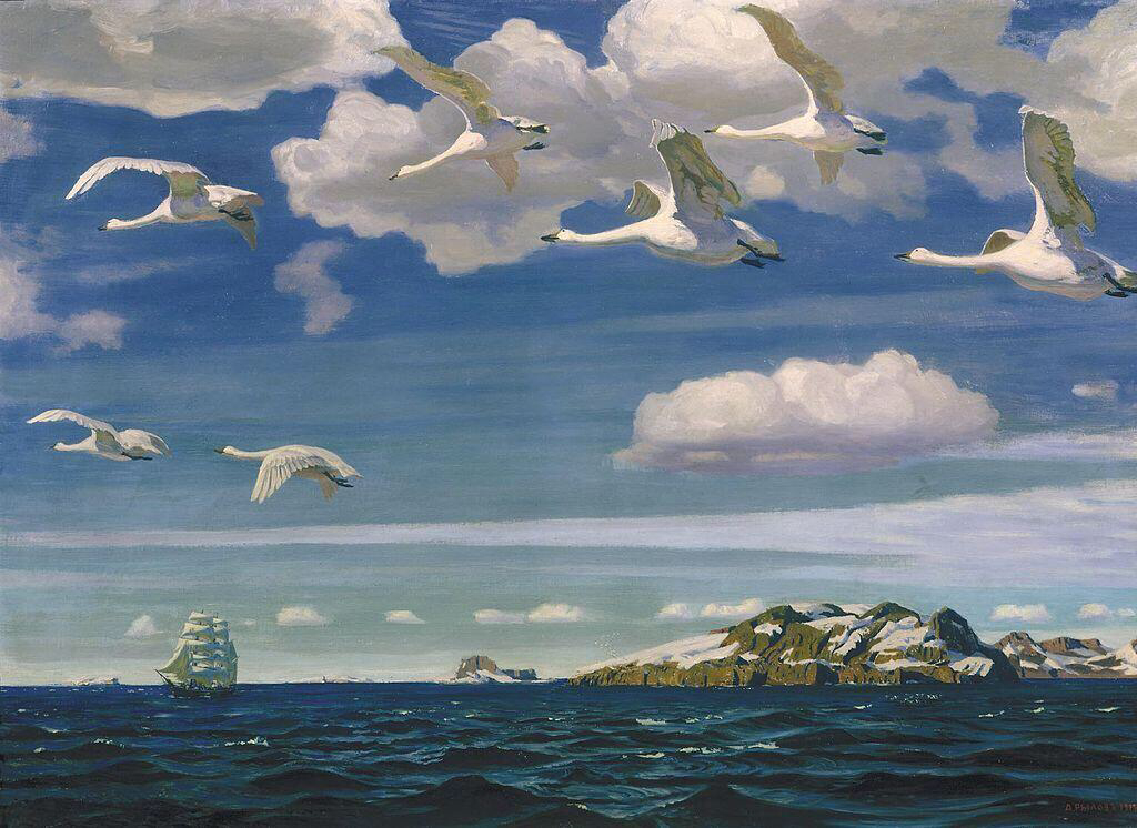 In the Blue Expanse - Arkady Rylov