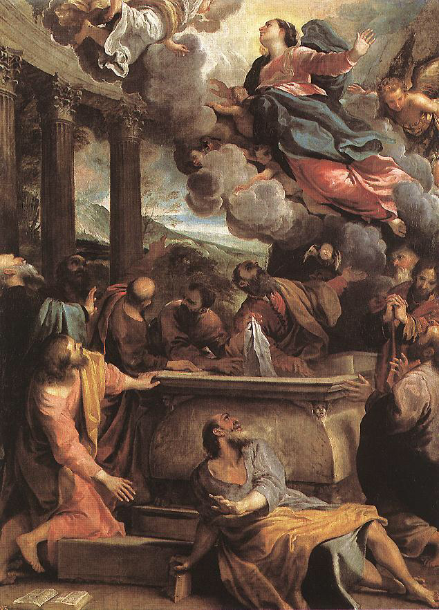 Assumption of Mary - Annibale Carracci