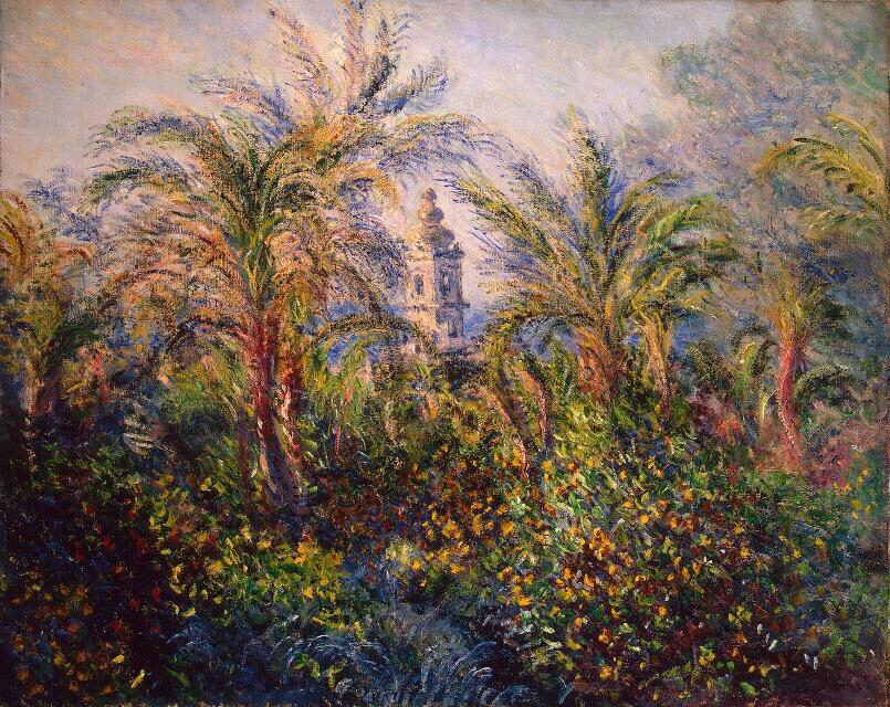 Garden in Bordighera, Impression of Morning - Claude Monet